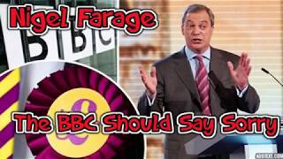Nigel Farage: BBC Should Say Sorry Over 2016 Remark
