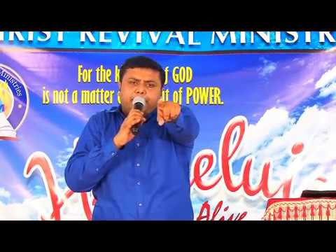 "Powerful message by Pr Shijo Vaidian ""Blessed In Christ"""