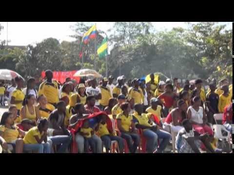 Asi se vivio el partido colombia uruguay en villa rica for Viveros en uruguay