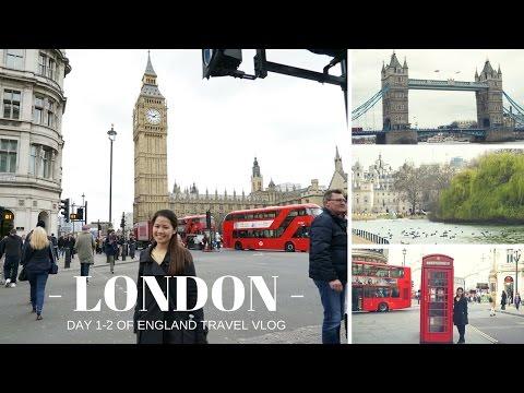 Travel Vlog│London (Day 1-2)