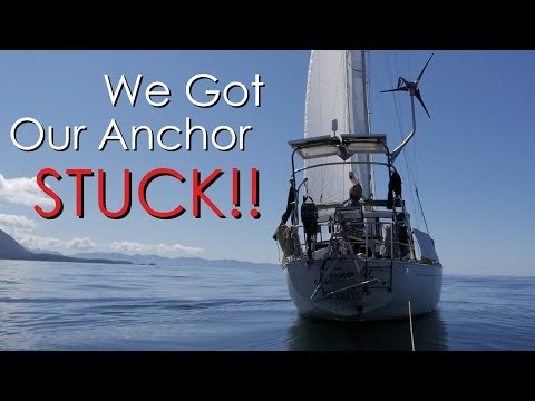 Anchoring our Sailboat in HEAVY WINDS!!! - Walde Sailing ep.58 (Vancouver Island)