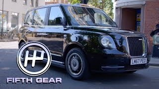 Is the LEVC TX the future of the London Cab? | Fifth Gear