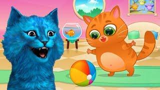 Говорящий КОТЁНОК БУБУ #1 Знакомство с виртуальным котиком игра КОТЁНОК ЛАЙК Bubba