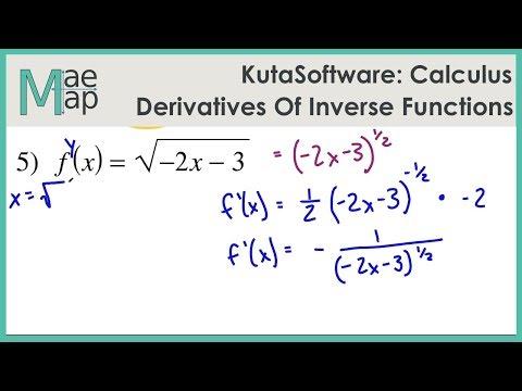 KutaSoftware: Calculus- Derivatives Of Inverse Functions