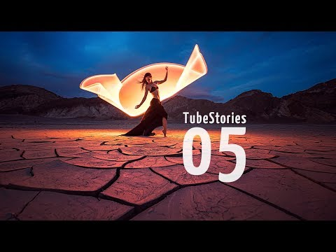How to create striking colors using the light-painting tubes - Tube Stories 5