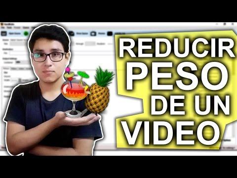 COMO REDUCIR EL PESO DE UN VIDEO SIN PERDER MUCHA CALIDAD (HandBrake)