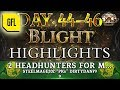 """Path of Exile 3.8: BLIGHT DAY # 44 - 46 Highlights STEELMAGE202 """"PKS"""" DIRTYDAN79, MAIRIAN'S RNG"""