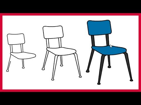 How to Draw a Chair Easy, Simple and Step by Step for Kids ...