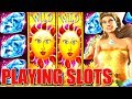 🔴 CRAZY FUN LIVE PLAY BONUS WINS on Konami Slot Games | Slot Traveler