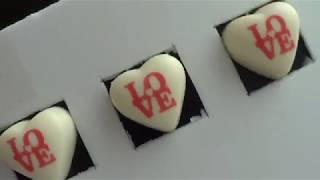 Gıda Yazıcısı - Fildişi Çikolata Üzerine Baskı - İmaj Kurabiye
