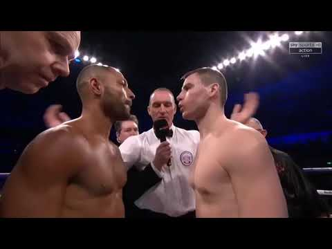Kell Brook KO'S Sergey Rabchanko in second round