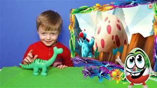 Игра про Динозавров для Детей Защищаем Яйцо от Траглодитов #4  Мультик про Динозавров Lion boy