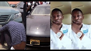 Fake Bank Alert : Car Thief Who Buys Exotic Cars With Fake Bank Alert Arrested
