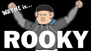 👊🏻WAYNE ROONEY is ROCKY👊🏻(Parody Rooney vs Bardsley Fight,Man Utd vs Spurs 3-0 Goal Celebration)