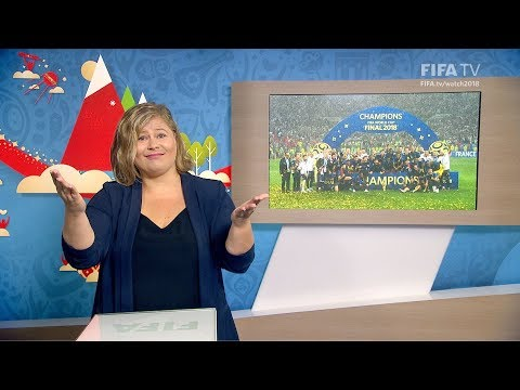 FIFA WC 2018 - FRA vs. CRO – for Deaf and Hard of Hearing - International Sign
