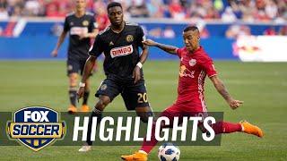 Alejandro 'Kaku' Romero scores beautiful shot for the New York Red Bulls | 2018 MLS Highlights