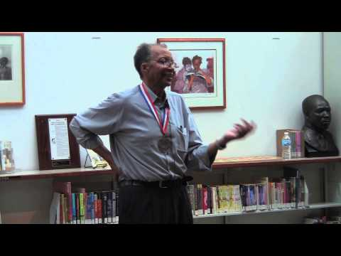 Author Walter Dean Myers @ Powell Branch Library