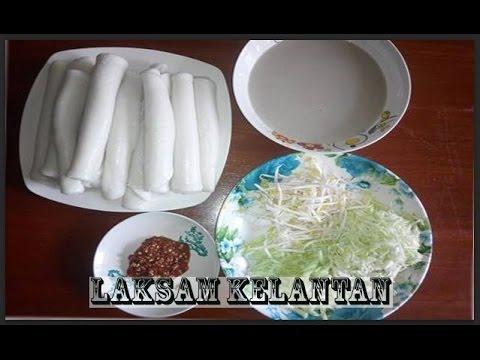 Laksam | Cara Buat Laksam | Laksam Kelantan Mudah [Mesti Cuba!!]