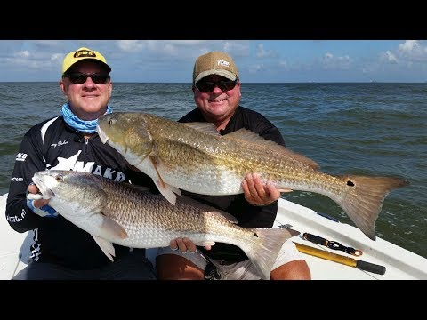 FOX Sports Outdoors SouthWEST #27 - 2017 Venice Louisiana Redfish Fishing