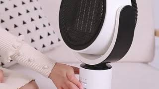 가정용 전기 히터 온풍기 PTC 방식 세라믹