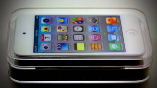 iPod Touch White Unboxing (4G)