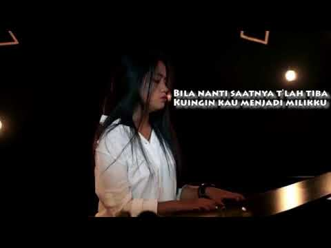 AKAD - PAYUNG TEDUH with LYRICS UNOFFICIAL (Cover) by Hanin Dhiya