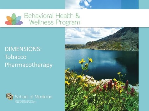 DIMENSIONS: Tobacco Pharmacotherapy