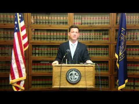 Nebraska Attorney General Bruning discusses marajuana policy - an NET News Feature
