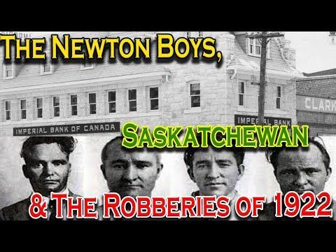 The Newton Boys, Saskatchewan and The 1922 Robberies