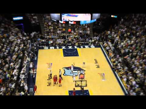 Z-BO Chant - Memphis Grizzlies NBA Playoffs 2013