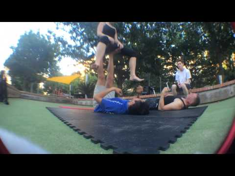 Whale pop to Flying Squirrel AcroYoga Tutorial  (add)