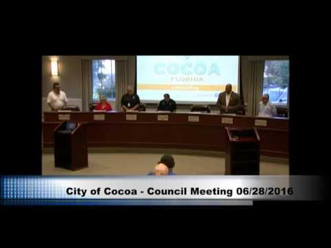 City of Cocoa - Council Meeting