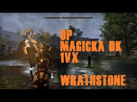 ESO PVP - OP META MAGICKA DK 1VX (WRATHSTONE) |