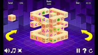 Game Mahjong 3D Time