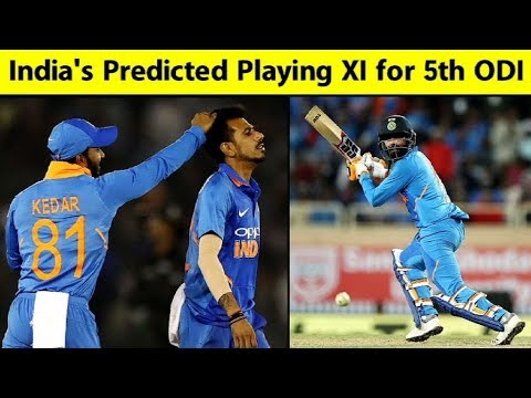 India vs Australia 2019, 5th ODI: Predicted Playing XI | Sports Tak