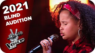 Zoe Wees - Control (Rahel) | The Voice Kids 2021 | Blind Auditions