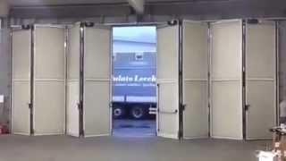 видео Автоматика для противопожарных ворот