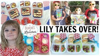 Lily Takes Over Bunches of Lunches || 4th of July Water Balloon Party!