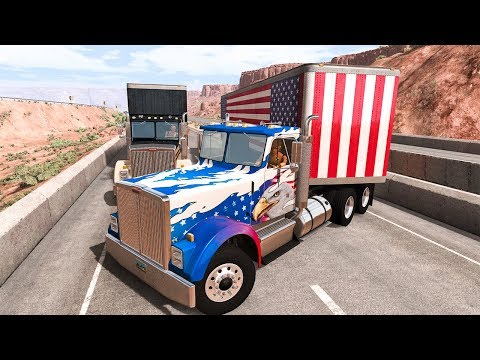 Truck Crashes #1 - BeamNG DRIVE