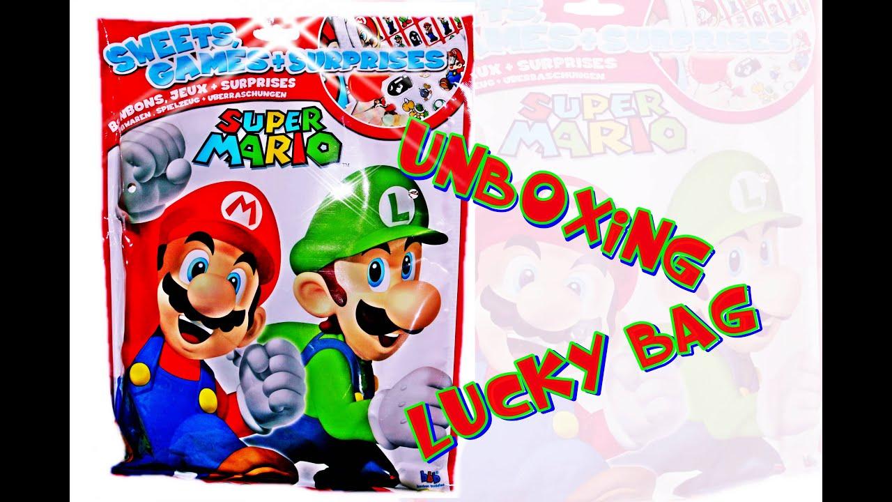 SUPER MARIO blind bag 4K SURPRISE 장난감 opening Lucky :) Kinder ...
