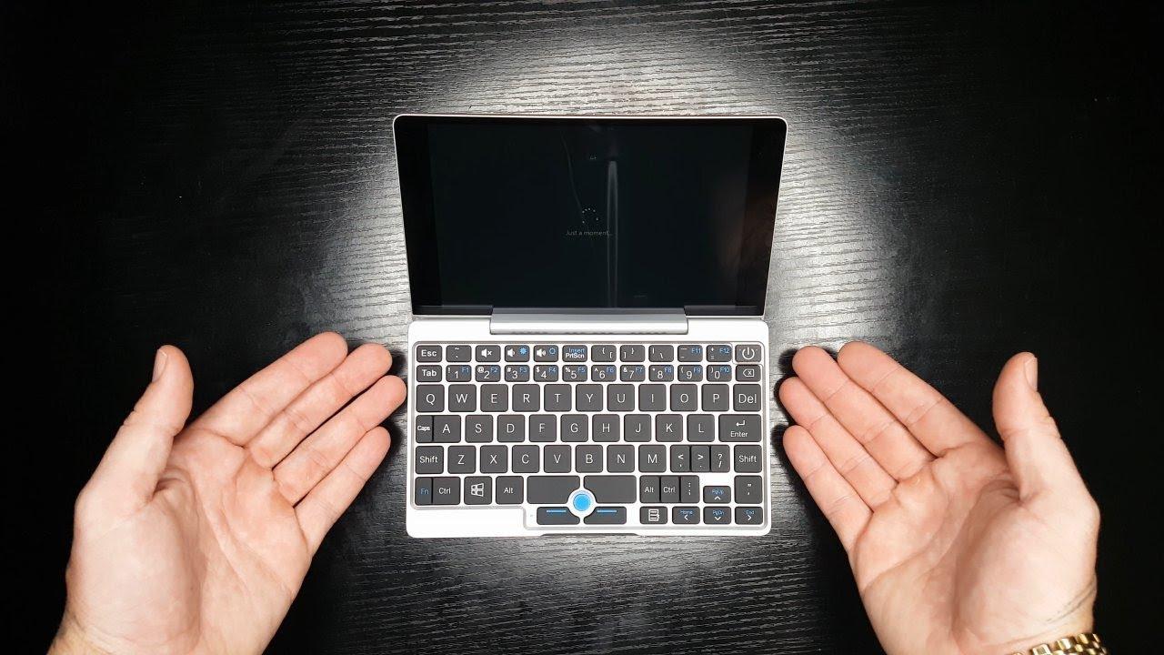 gpd pocket mini laptop review smallest laptop 2017 youtube