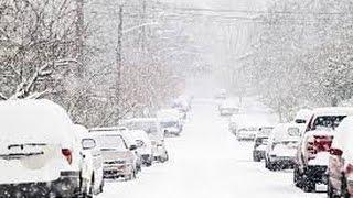 Супер метель/снегопад Одесса 29.12.14 снег