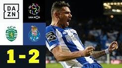 Erster Sieg seit über 12 Jahren bei Sporting: Sporting CP - FC Porto 1:2 | Primeira Liga | DAZN