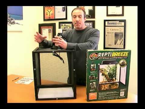 repti-breeze-aluminum-screen-cages-for-reptiles---setup,-lighting-&-more