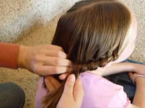 2 Strand Knotted French Braid Youtube