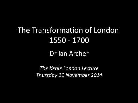 Dr Ian Archer London Lecture