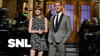 Monologue: Andrew Garfield Gets Advice from Emma Stone and Aidy Bryant - SNL