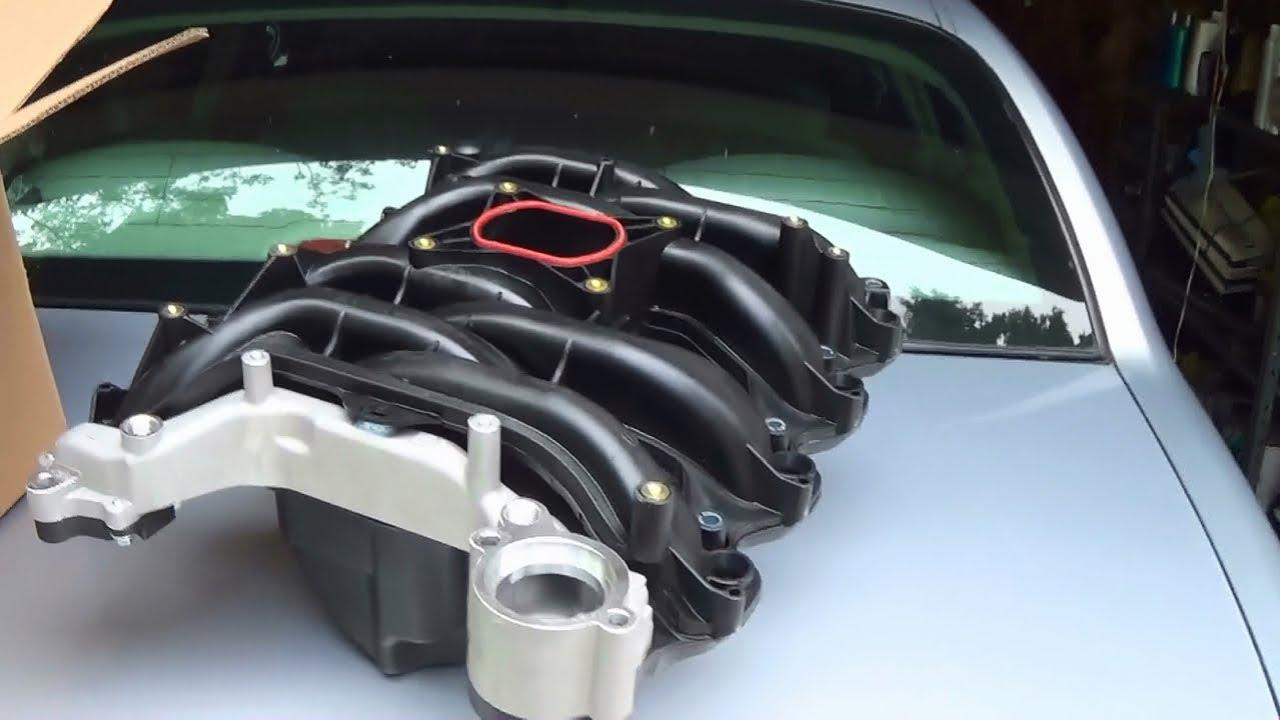 lincoln town car coolant leak repair 4 6 sohc composite intake manifold youtube [ 1280 x 720 Pixel ]