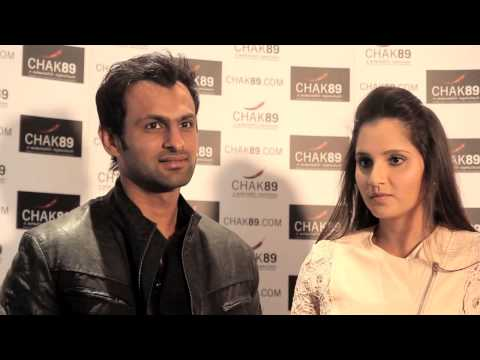 Sania Mirza & Shoab Malik at Chak89