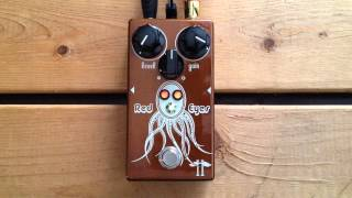 5 Minutes with the Heavy Electronics Red Eyes Overdrive - Pedal Demo